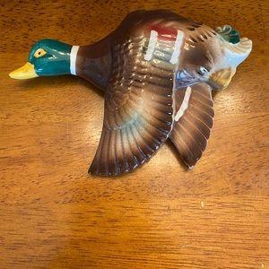 Chase China Mallard duck wall pocket